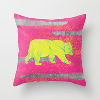 orso nr.2 Throw Pillow by Juni | Society6