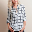 Down To Business Button-Up Blouse