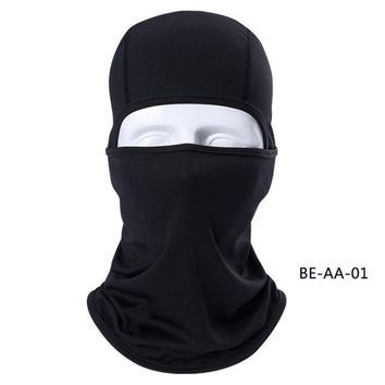 Unisex Breathable Speed Dry Outdoor Sports Riding Ski Mask Tactical Head Cover Motorcycle Cycling UV Protect Full Face Mask