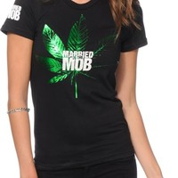 Married To The Mob Kush Logo T-Shirt