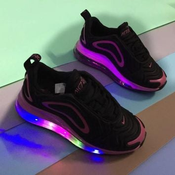 NIKE AIR MAX 720 Lamp shoes Full Palm Air Cushion Sports Casual Children's Shoes