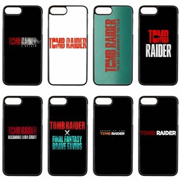movie tomb raider logo cover case For HTC One M7 M8 M9 Plus M10 A9 Desire 816 820 826 830 626 one X phone case