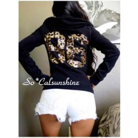 Victoria's Secret cheetah bling hoodie($ 40) - Mercari: Anyone can buy & sell