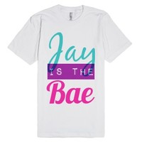 Jay is the Bae-Unisex White T-Shirt