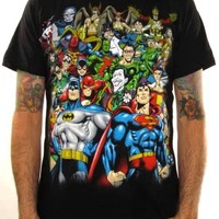 DC Comics T-Shirt - Stacked Group