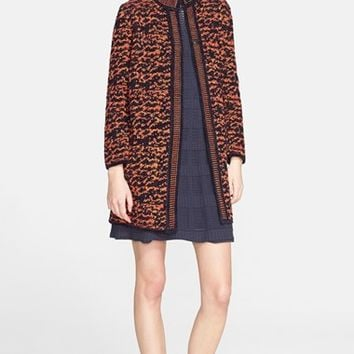 Women's M Missoni Tweed Knit Coat,