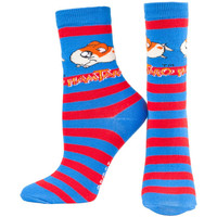 Hamtaro - Red & Blue Socks