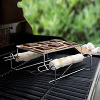 Charcoal Companion 5-pc. S'mores Roasting Rack & Skewer Set