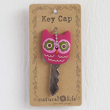 hot pink owl key cap