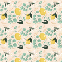 Emma Trithart's Lovely Lemons Removable Wallpaper