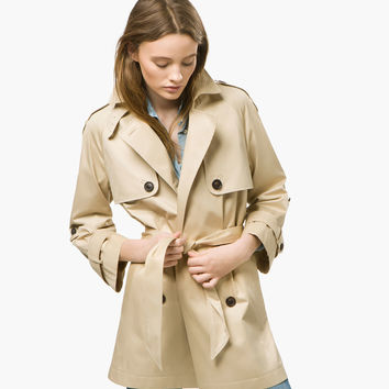 RAGLAN SLEEVE RAINCOAT - View all - Jackets - WOMEN - España (Excepto Canarias)/Spain (except the Canary Islands)