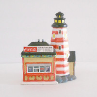 Coke Christmas Light House Town Square Collection