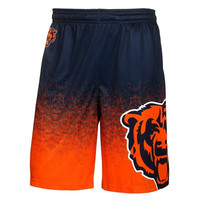 Chicago Bears  Official NFL Gradient Polyester Shorts