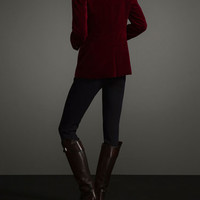 VELVET BLAZER LIMITED EDITION - WOMEN - THE EQUESTRIAN - United States