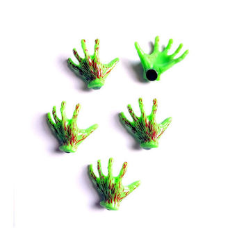 Zombie Hand Magnet Set of 5 Walking Dead Bloody Horror Decor Decoration Zombies Halloween