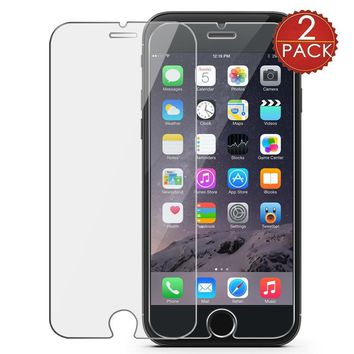 2pcs Protector Glass for Apple iPhone 7 8 6 6S Plus 5S SE 5C 4 4S X 0.30mm 9H 2.5D Tempered Glass Screen Protective Film