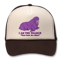 I am the Walrus Hat from Zazzle.com
