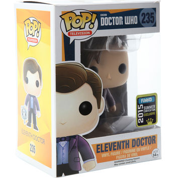 Funko Doctor Who Pop! Television Eleventh Doctor Vinyl Figure 2015 Summer Convention Exclusive