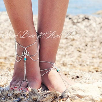 Fashion Gold Chain Anklet Foot Ankle Women Lady Jewelry Elegant