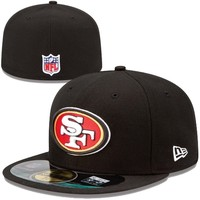 San Francisco 49ers New Era On-Field Player Sideline 59FIFTY Fitted Hat – Black