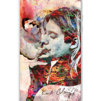 Kurt Cobain iPhone Case, Nirvana Phone case, iPhone 5s Case, iPhone 5 Case,