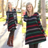 Sleigh Ride Tunic Dress