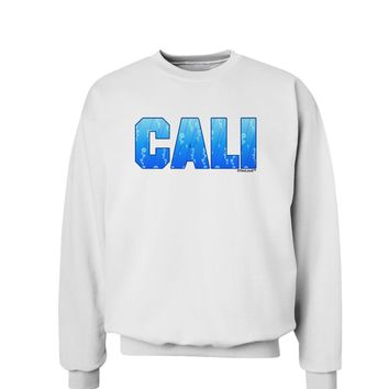 Cali Ocean Bubbles Sweatshirt by TooLoud