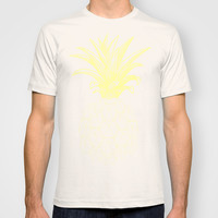 y-hello pineapple T-shirt by AmDuf