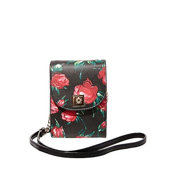 THE SLIM PHONE ORGANIZER CROSSBODY: Betsey Johnson