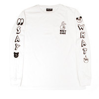 Lazy Oaf Say What Tee