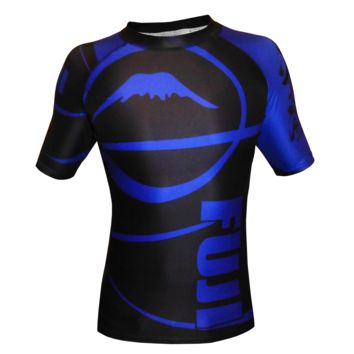 Fuji - Freestyle IBJJF Ranked Rashguard Short Sleeve (Blue)