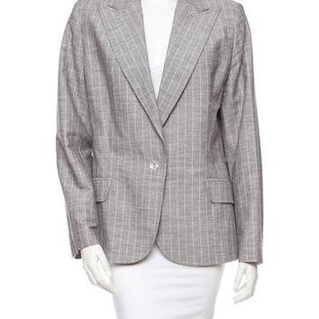 John Galliano Chambray Blazer
