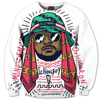Schoolboy Q Enlightenment 3D Sublimation Print Crewneck