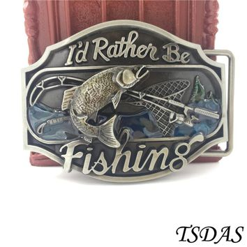 High Quality 3D Fish Belt Buckle