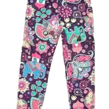 Girls Candyland Print Legging, Multi