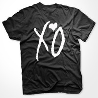 XO T-shirt Inspired by the weeknd unisex S-4XL Black and White