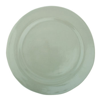 Stour Dinner Plate in Grey design by Canvas