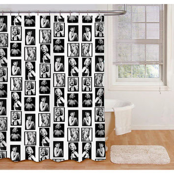 Miss Marilyn Monroe Shower Curtains