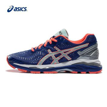 PEAPON Original ASICS GEL-KAYANO 23 Night Running Women's Cushion Stability Running Shoes ASICS Sports Shoes Sneakers free shipping