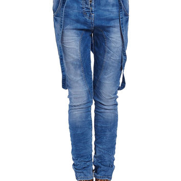 Q2 Jeans With Strappy