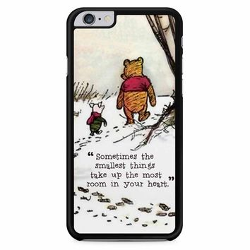 Winnie The Pooh Quote 2 iPhone 6 Plus / 6S Plus Case