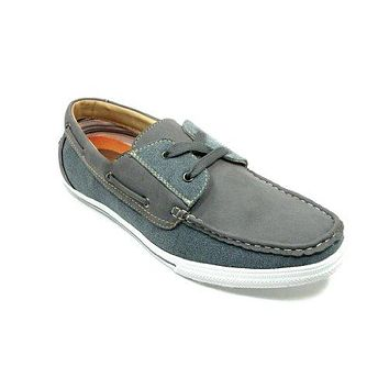 Men's 30182 Moccasin 2 Eye Lace Up Casual Sneaker Shoes