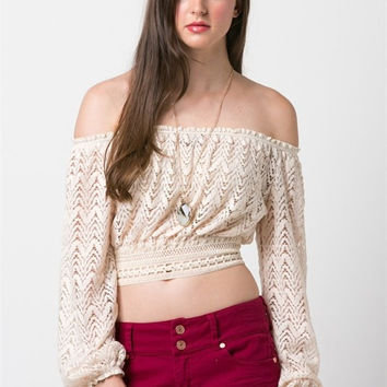 Carpe Diem Laced Top (more colors)