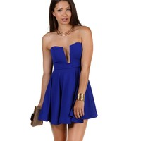 Promo- Royal Spectacle Skater Dress