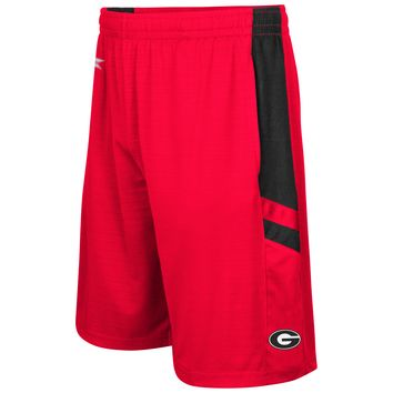 NCAA Georgia Bulldogs Mens Setter Shorts