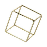 Cube Outline Bracelet - Gold
