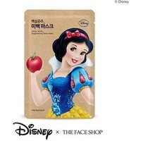 THE FACE SHOP x DISNEY PRINCESSES Snow White Brightening Face Mask