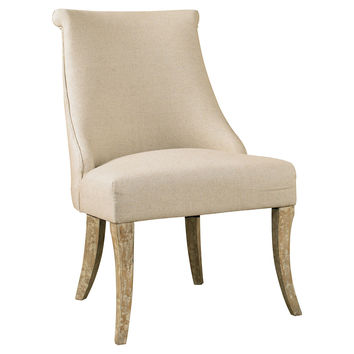 Alex Host Chair, Cream, Accent & Occasional Chairs