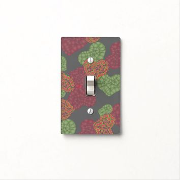 Cute Hearts Pattern Light Switch Cover