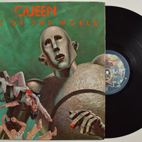 "QUEEN - ""News of the World"" vinyl record"